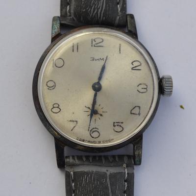Часов стоимость зим советских продам танковые часы